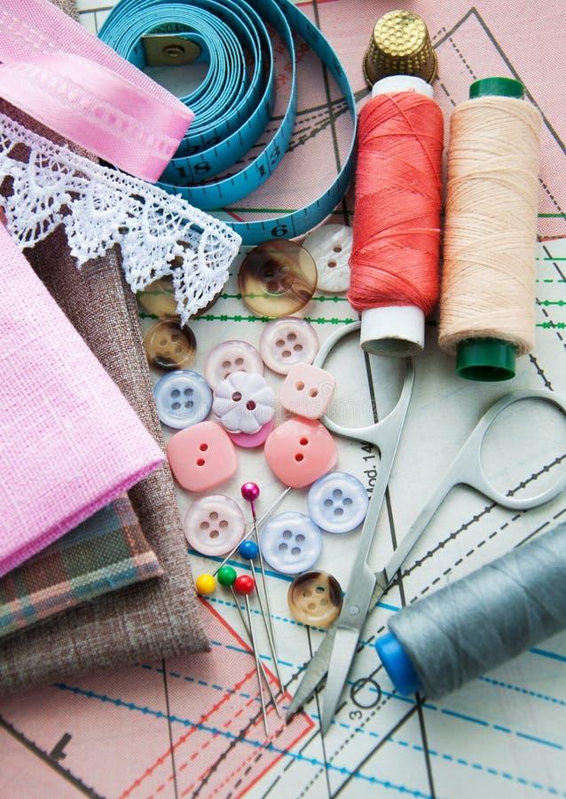 Download 裁缝的辅助部件 库存例证. 插画 包括有 工具, 用品, 纸张, 纺织品, 嘲笑, 空白, 设备, 粉红色 - 30325722