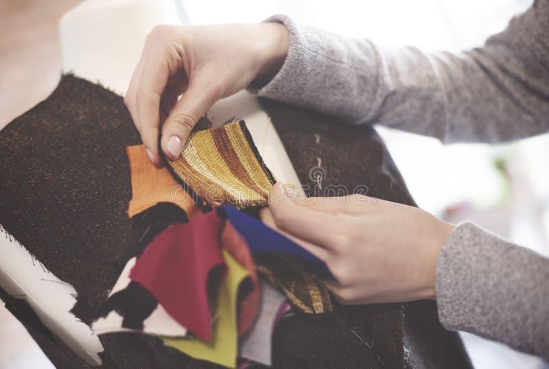 裁缝 免版税图库摄影
