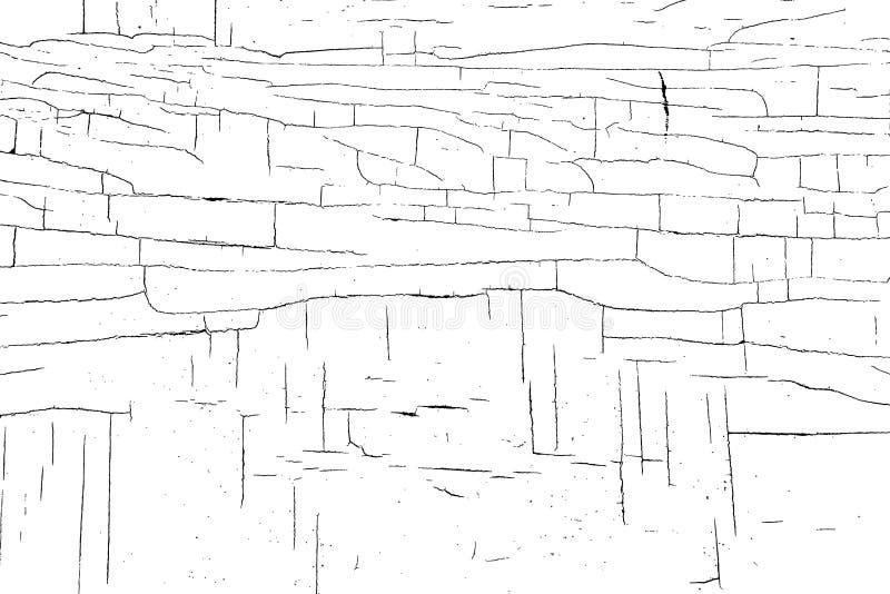 裂化的油漆纹理向量 库存例证