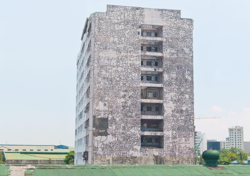 裂化的油漆 免版税图库摄影
