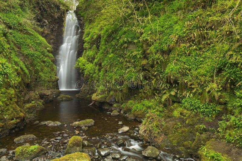 裂口在北爱尔兰落 免版税库存图片
