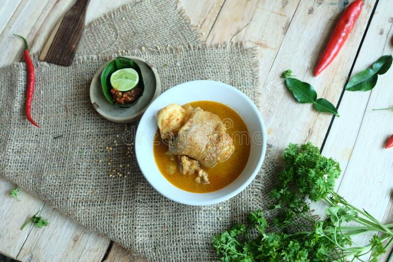 裂口汤和菜 库存照片