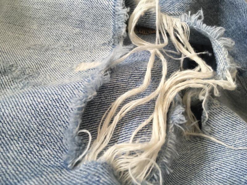 裂口牛仔裤 库存图片