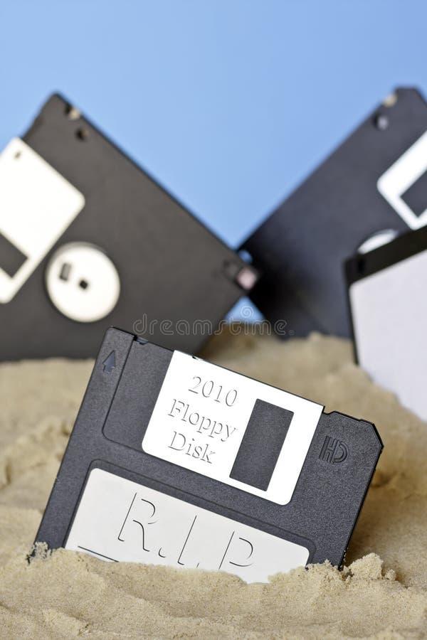 裂口磁盘 图库摄影