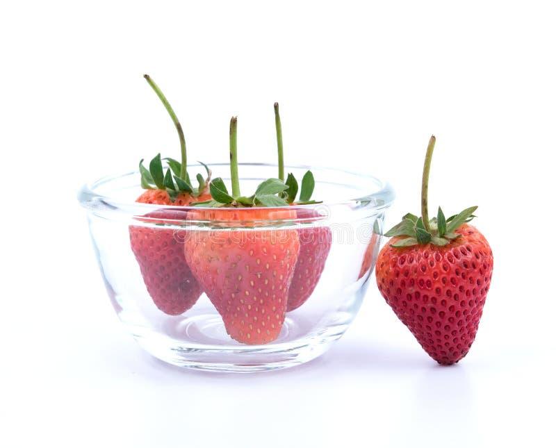 裂口草莓 库存照片