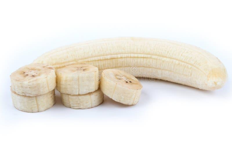 裂口香蕉 免版税库存照片
