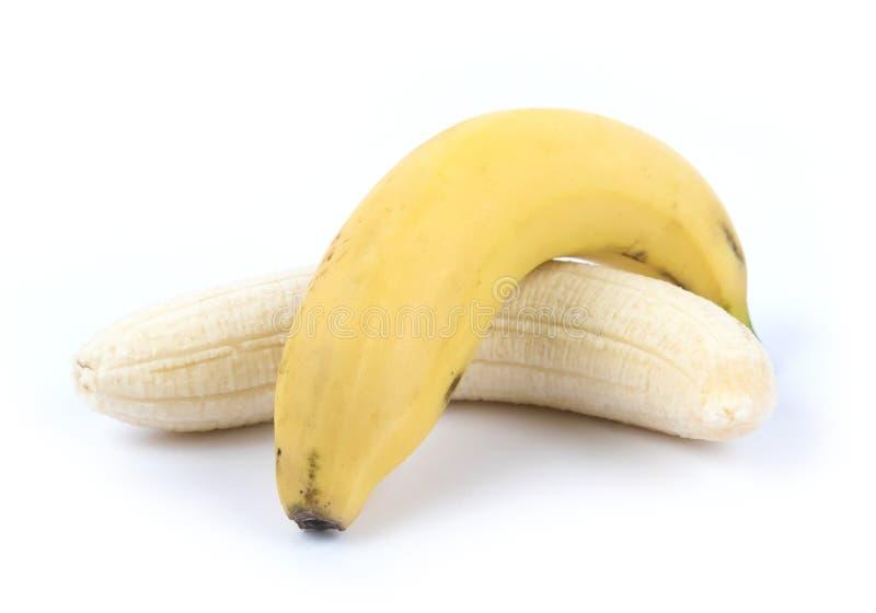 裂口香蕉 免版税库存图片