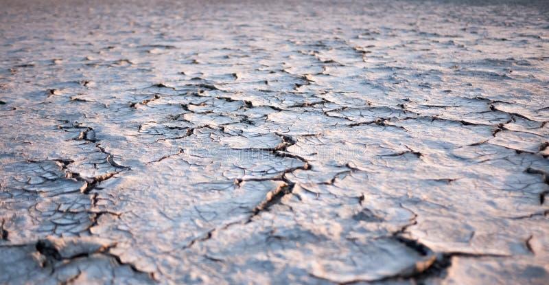 破裂的地球土壤背景 库存照片