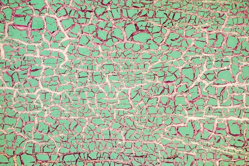 破裂的油漆-抽象难看的东西背景 免版税库存图片