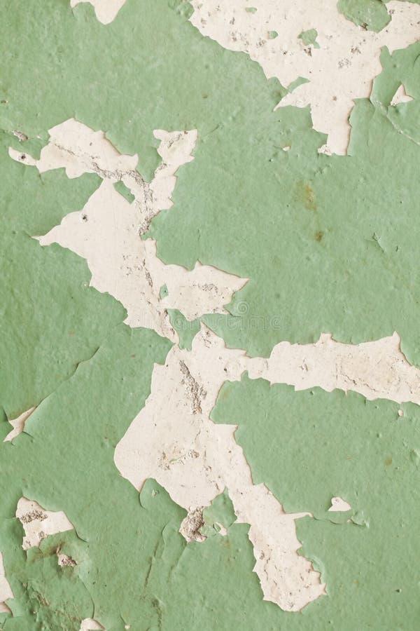 破裂的老墙壁难看的东西纹理 库存图片