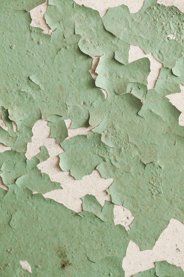 破裂的老墙壁难看的东西纹理 库存照片