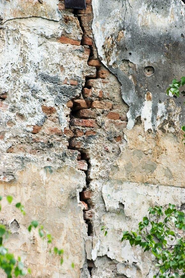 裂缝 库存图片
