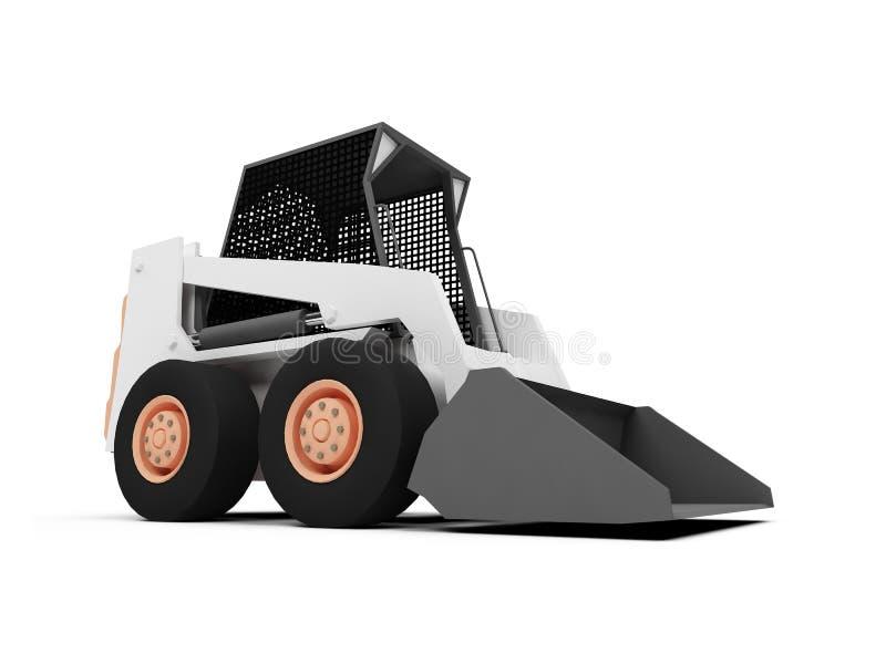 装入程序滑行操舵 库存例证