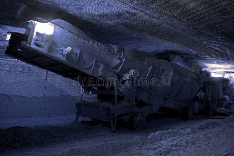 装料机最小值被设置的地下 免版税库存图片