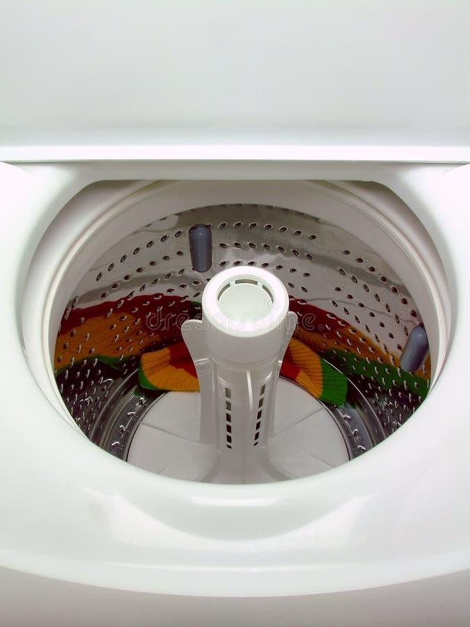 装料机顶部洗涤物 库存图片