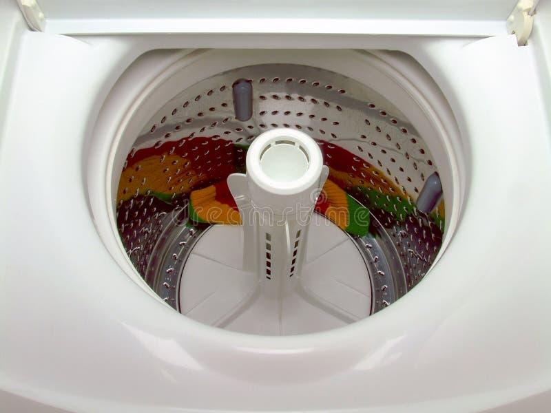 装料机顶部洗涤物 免版税库存图片