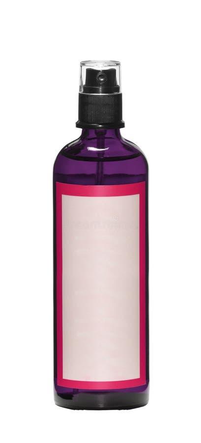 装瓶剪报包括的查出的轻拍浪花白色 免版税图库摄影