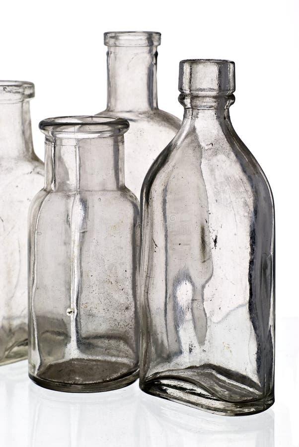 装瓶医学葡萄酒 库存照片