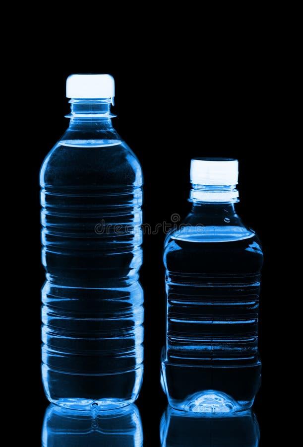 装瓶塑料二水 免版税库存照片