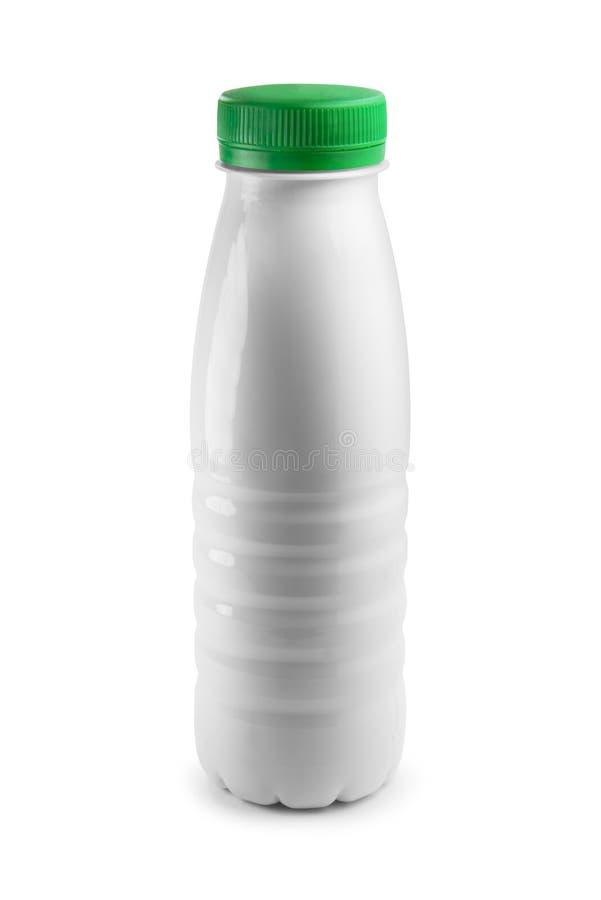 装瓶塑料白色 免版税库存照片