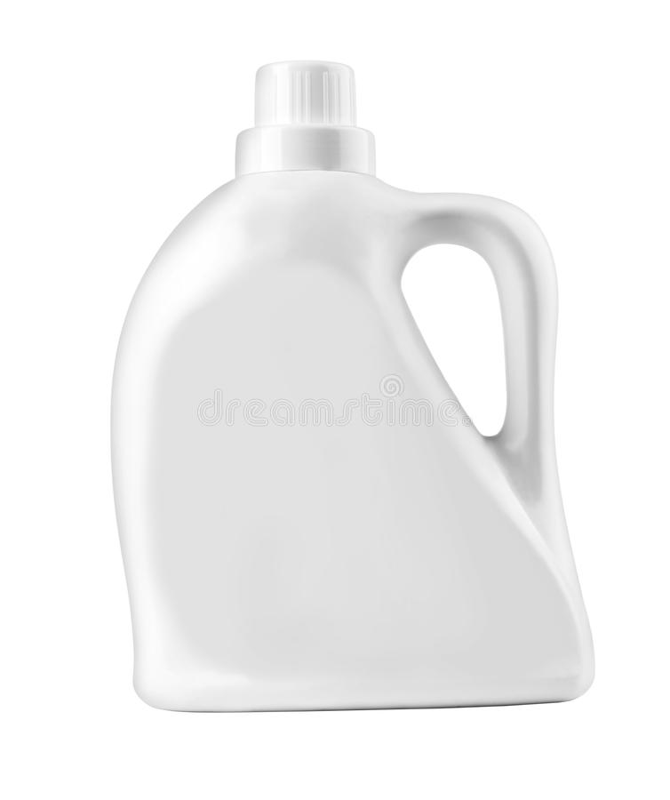 装瓶塑料白色 库存照片