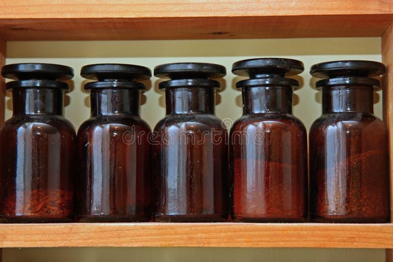 装瓶实验室 免版税库存照片