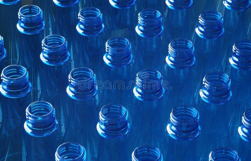 装瓶工厂水 免版税库存照片