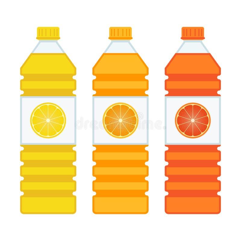 装瓶汁液 库存例证