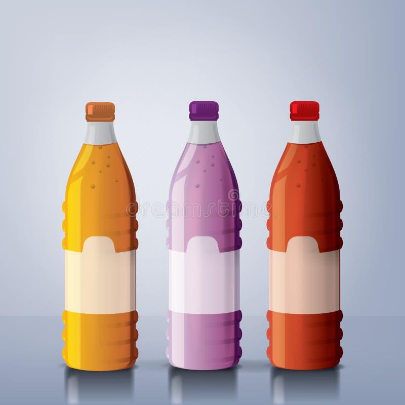 装瓶汁液 免版税库存照片