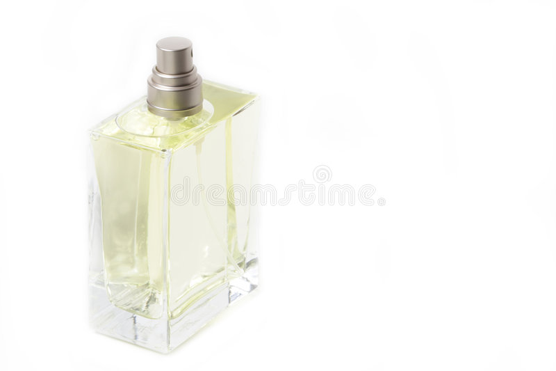 装瓶科隆香水 库存图片