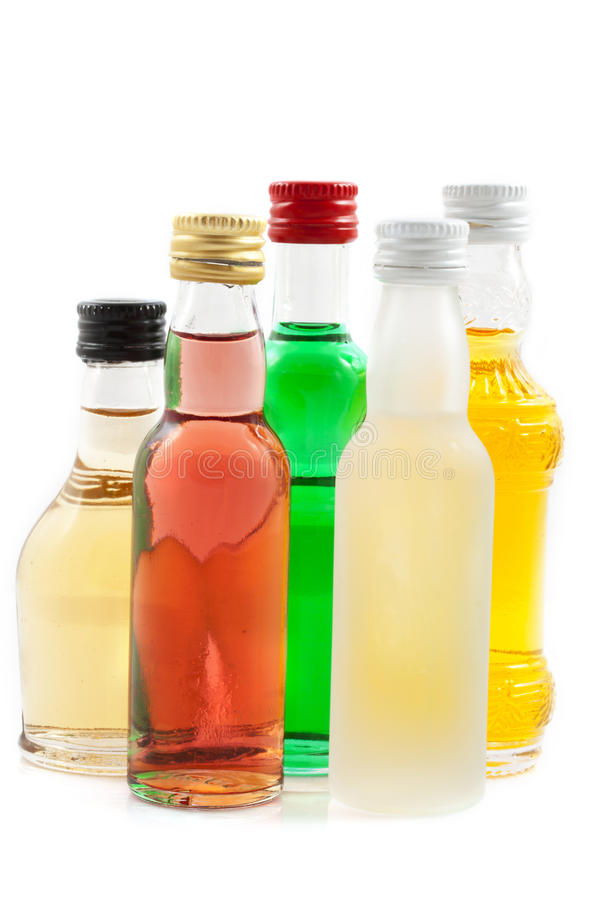 装瓶酒 免版税库存照片