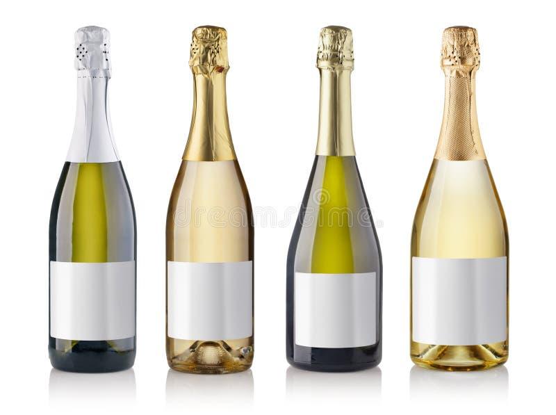 装瓶香槟 免版税图库摄影