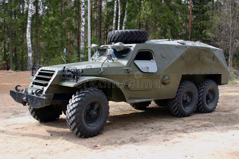 装甲的俄国卡车 免版税库存图片
