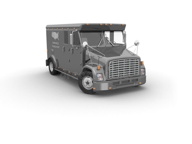 装甲的卡车 向量例证