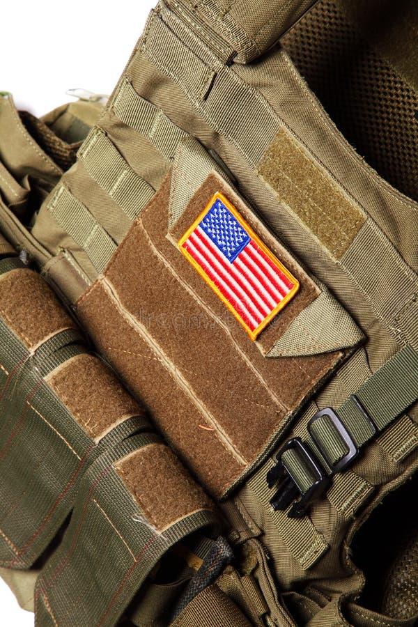 装甲私有陆军的身体我们 图库摄影