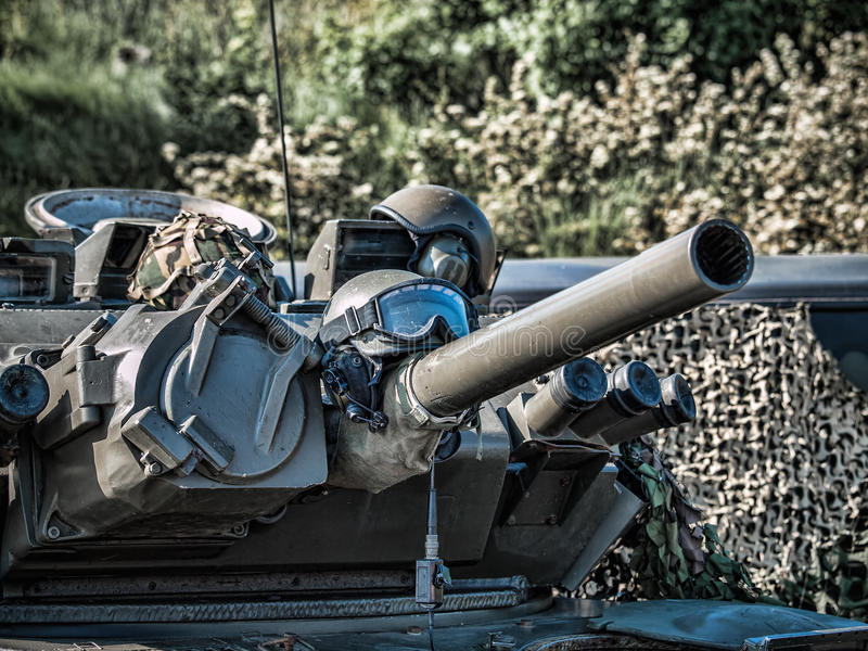 装甲车 免版税图库摄影