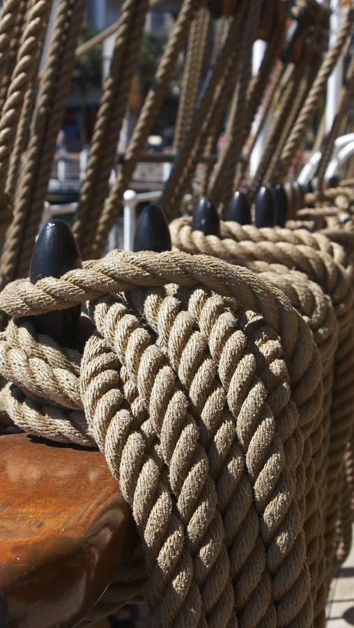 装配的船 免版税图库摄影