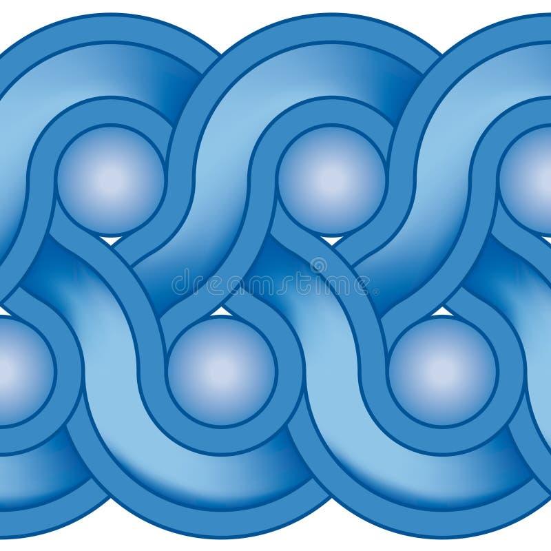 装饰几何向量 库存例证