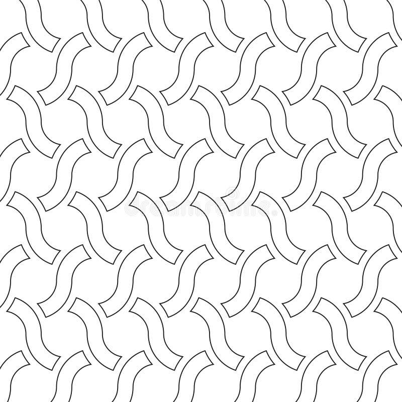 装饰几何向量 皇族释放例证