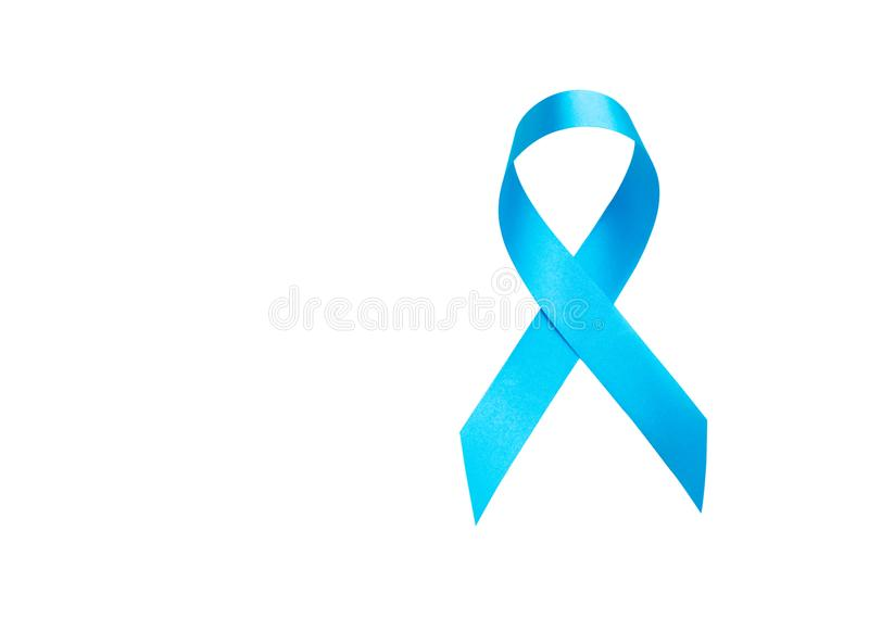 装饰卡片或当前产品概念的蓝色长波丝带 免版税图库摄影