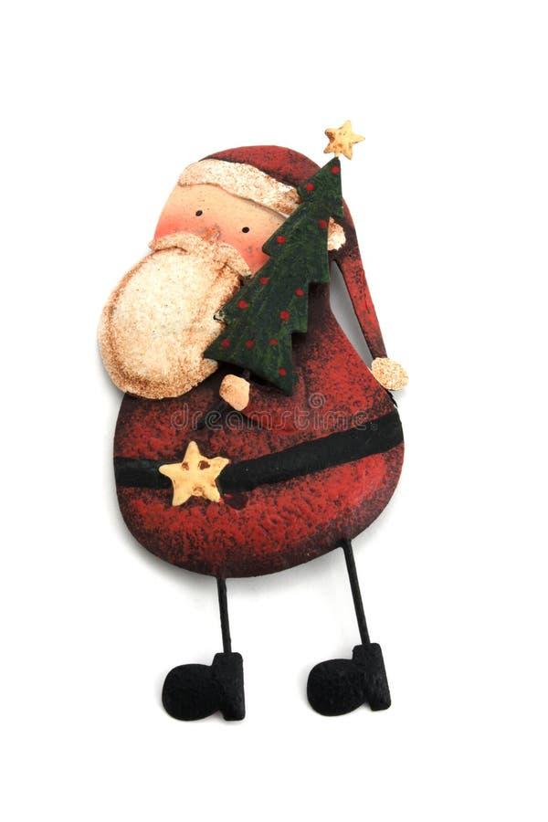 装饰品圣诞老人 库存图片
