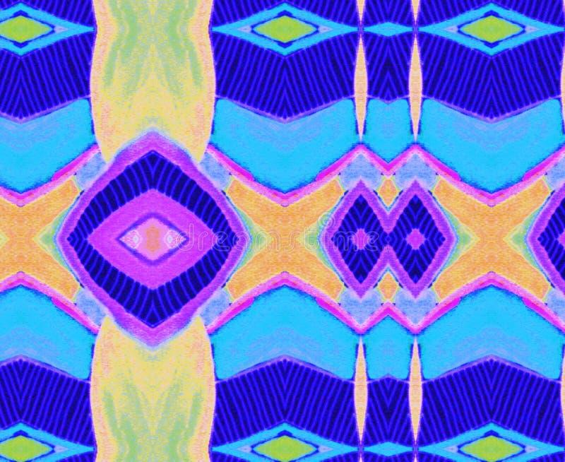 装饰品橙色蓝色黄绿色丁香空间 库存图片