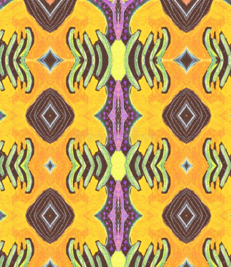 装饰品橙色紫色黄色淡紫色空间 库存照片