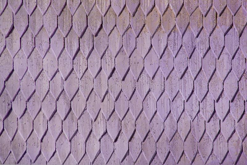 装饰土气菱形瓦片-木纹理 免版税库存图片