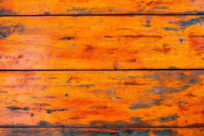 装饰在表面墙壁上的细节老五颜六色的木条纹背景和纹理  免版税库存图片