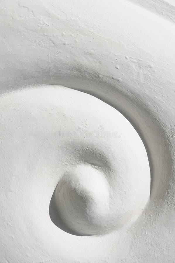 装饰地板螺旋墙壁 免版税库存图片