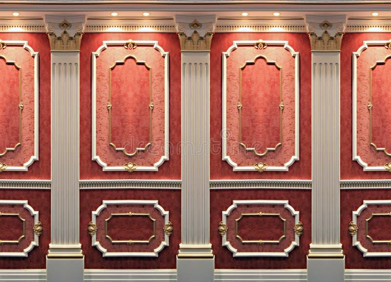 装饰墙壁 免版税库存图片