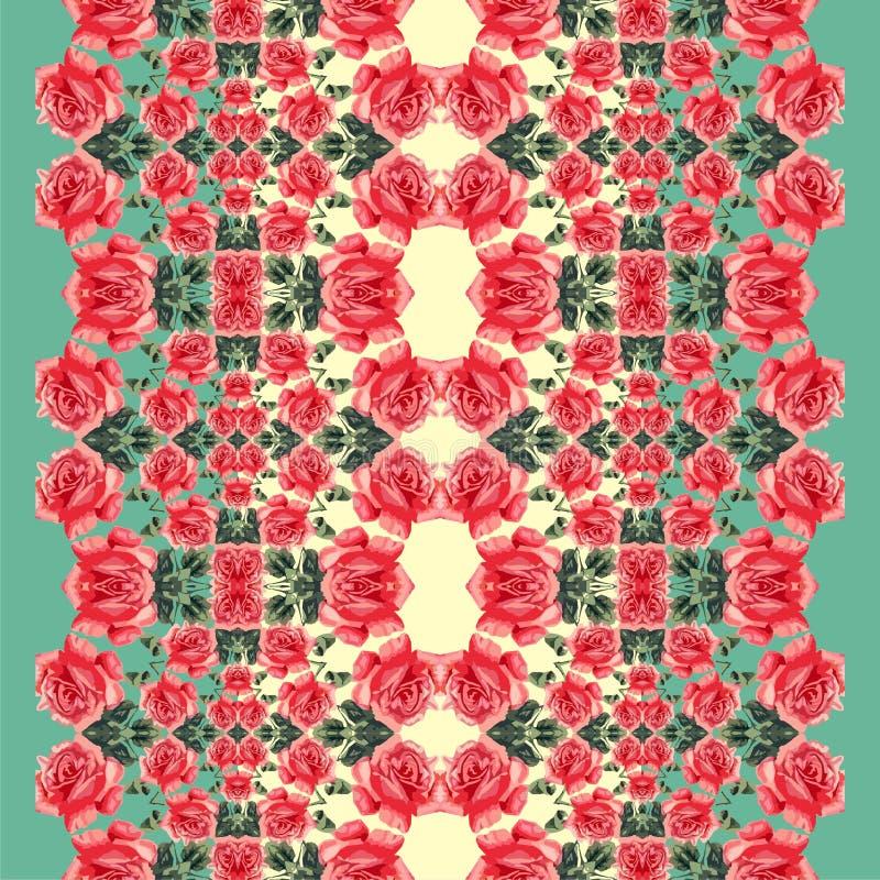 Download 花卉无缝的样式(玫瑰) 向量例证. 插画 包括有 装饰品, 花卉, 创造性, 看板卡, 本质, 开花, 别致 - 30328455