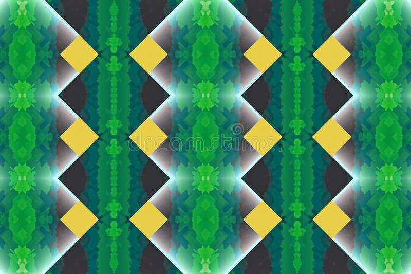 装饰抽象明亮的背景样式几何墙纸纹理织品 皇族释放例证