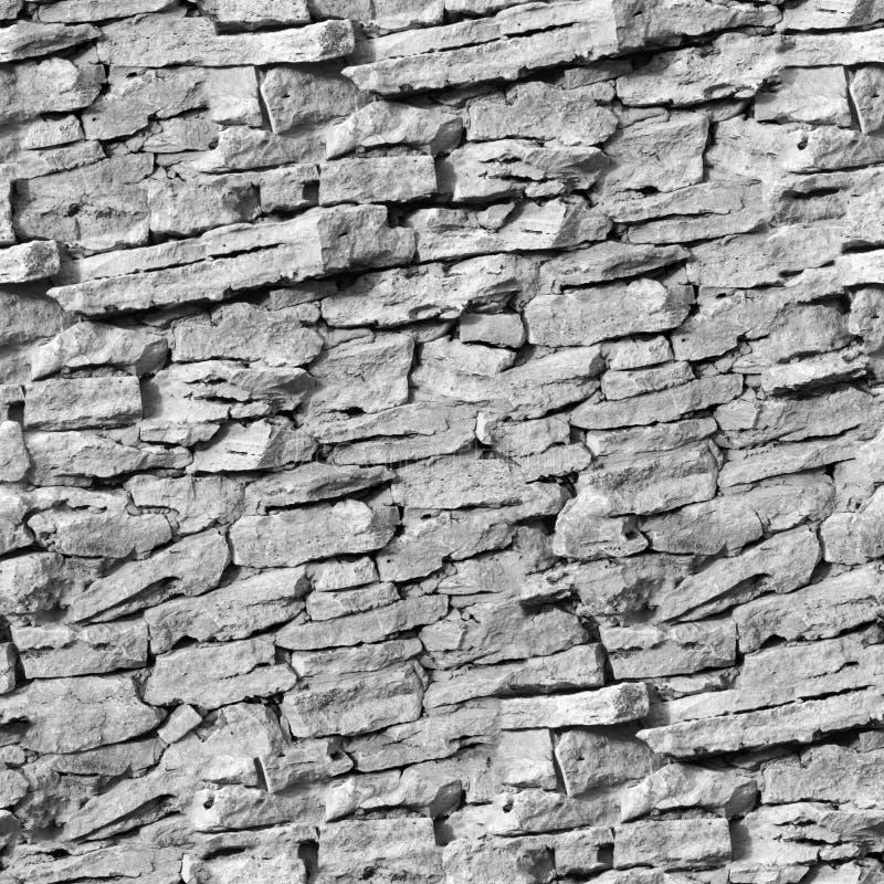 装饰无缝的石墙纹理 库存照片